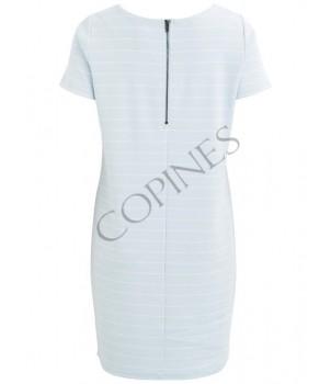 Eenvoudige jurk met korte mouwen