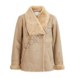 Imitatie schapenwollen jas
