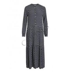Longsleeve maxi jurk